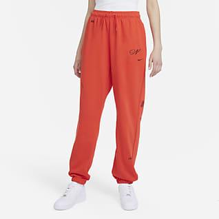 Nike Sportswear Icon Clash Damskie joggery z dzianiny o luźnym kroju