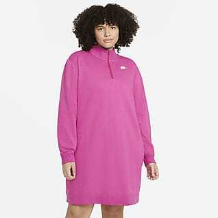 Nike Sportswear Club Women's Fleece Dress (Plus Size)
