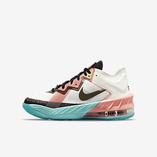 LeBron 18 Low x Space Jam: A New Legacy Баскетбольная обувь для школьников