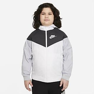 Nike Sportswear Windrunner Big Kids' (Boys') Jacket (Extended Size)