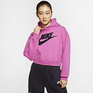 Nike Sportswear Icon Clash Fleecehættetrøje til kvinder
