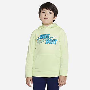 Nike Therma Little Kids' Pullover Hoodie