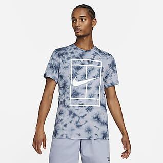 NikeCourt Męski T-shirt do tenisa barwiony metodą Tie Dye