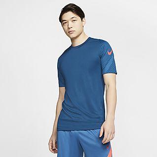 Nike Dri-FIT Strike Kortärmad fotbollströja för män