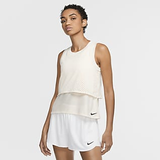 NikeCourt Dri-FIT Samarreta de tirants de tennis - Dona