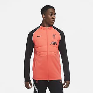 Liverpool FC Strike Męska treningowa kurtka piłkarska z syntetycznym wypełnieniem