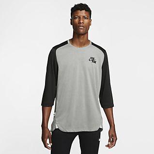 Nike Men's 3/4-Sleeve Baseball Top