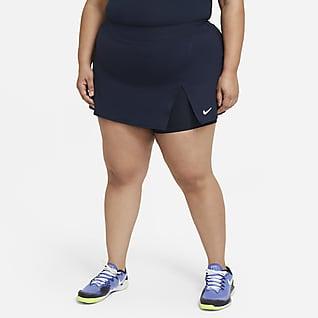 NikeCourt Victory Dámská tenisová sukně (větší velikost)