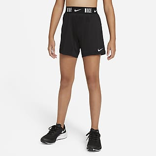 Nike Dri-FIT Trophy Treningsshorts (15 cm) til store barn (jente)