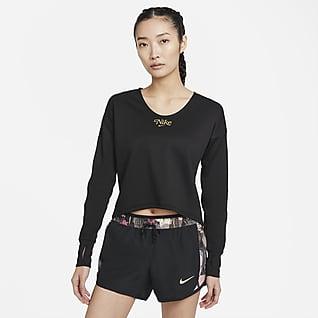 Nike Femme เสื้อวิ่งมิดเลเยอร์ผู้หญิง