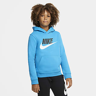 Nike Sportswear Club Fleece Older Kids' Pullover Hoodie