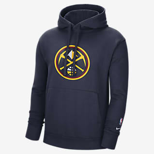 Denver Nuggets Essential Men's Nike NBA Fleece Pullover Hoodie