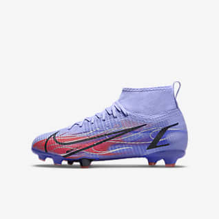 Nike Jr. Mercurial Superfly 8 Pro KM FG Younger/Older Kids' Firm-Ground Football Boot