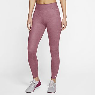 Nike One Luxe Women's Heathered Mid-Rise Leggings