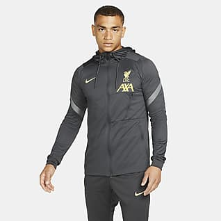 Liverpool FC Strike Nike Dri-FIT Fußball-Track-Jacket für Herren aus Strickmaterial