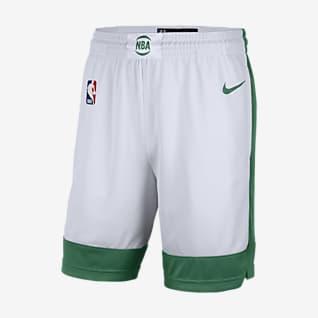 Boston Celtics City Edition 2020 Men's Nike NBA Swingman Shorts