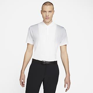 Nike Dri-FIT Tiger Woods Golfskjorte med trykk til herre