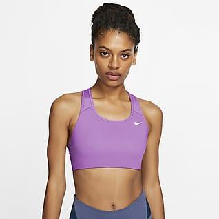 Nike Dri-FIT Swoosh Women's Medium-Support Non-Padded Sports Bra
