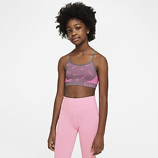 Nike Indy Older Kids' (Girls') Sports Bra