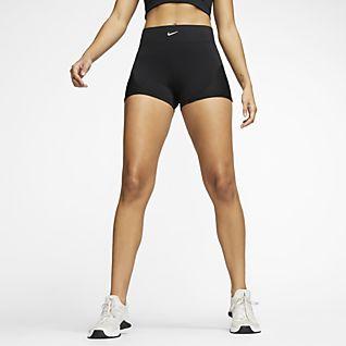 Nike Pro AeroAdapt Calções de 8 cm para mulher