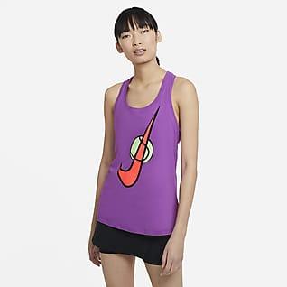 NikeCourt Débardeur de tennis à logo Swoosh pour Femme