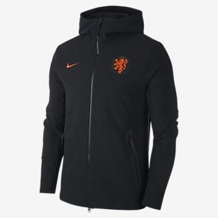 Holland Tech Pack Hættetrøje med lynlås i fuld længde til mænd