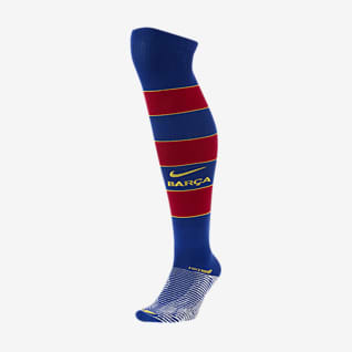 FC Barcelona 2020/21 Match Home Chaussettes hautes de football