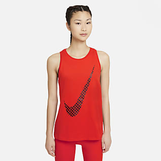 Nike Dri-FIT Icon Clash เสื้อกล้ามเทรนนิ่งผู้หญิงมีกราฟิก