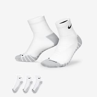 Nike Everyday Max Cushioned Kotníkové tréninkové ponožky (3 páry)