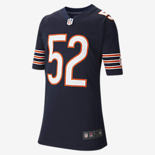 NFL Chicago Bears (Khalil Mack) Big Kids' Game Football Jersey