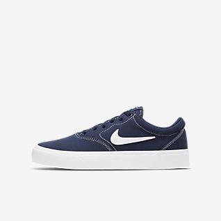 Nike SB Charge Canvas Skateboardová bota pro větší děti