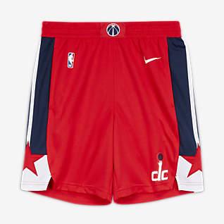 Washington Wizards Icon Edition Nike NBA Swingman Shorts für Herren
