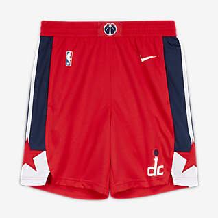Washington Wizards Icon Edition Pantalons curts Nike NBA Swingman - Home