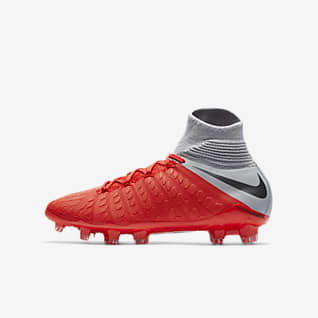 Nike Jr. Hypervenom III Elite Dynamic Fit Fotbollssko för fast underlag för ungdom