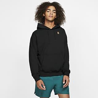 NikeCourt Dessuadora amb caputxa de teixit Fleece de tennis - Home