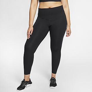 Nike One Luxe Women's Mid-Rise Leggings (Plus Size)
