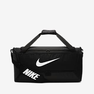 Nike Brasilia 訓練帆布包 (中)