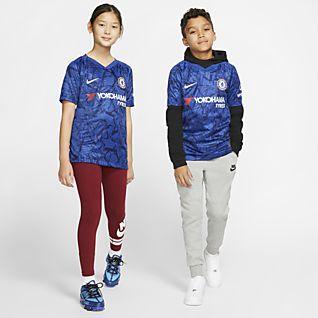 Chelsea FC 2019/20 Stadium Home Fotbollströja för ungdom