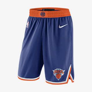 New York Knicks Icon Edition Short Nike NBA Swingman pour Homme