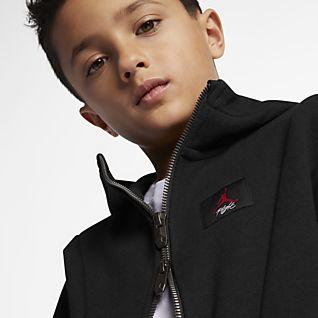 Jordan Flight Lite Hosszú cipzáras, kapucnis pulóver kisebb gyerekeknek