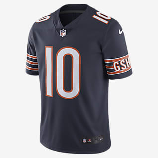 NFL Chicago Bears Dri-FIT (Mitch Trubisky) Men's Limited Color Rush Football Jersey