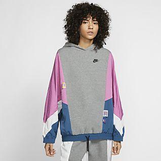 Nike Sportswear Icon Clash Huvtröja i pullovermodell