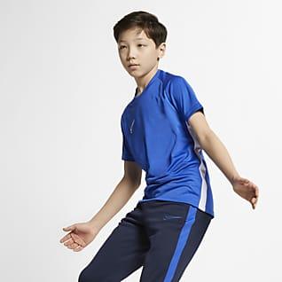 Nike Dri-FIT Academy Kortermet fotballoverdel til store barn