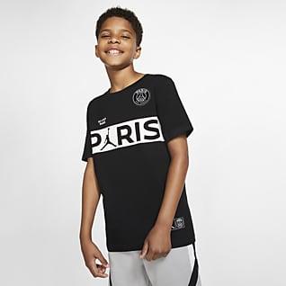 PSG Tee-shirt à manches courtes pour Garçon plus âgé