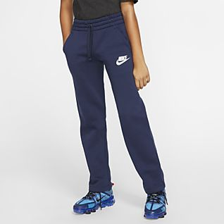 Nike Sportswear Club Fleece Big Kids' (Boys') Open-Hem Pants