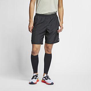 Nike Challenger Calções de running de 23 cm com slips forrados para homem
