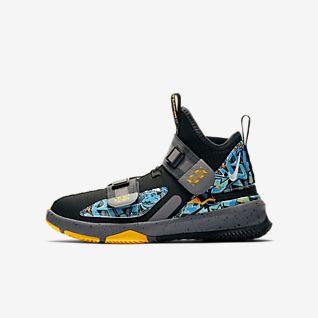 Preto LeBron James Sapatilhas. Nike PT
