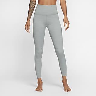 Nike Yoga Luxe 7/8-Infinalon-Leggings mit hohem Taillenbund für Damen