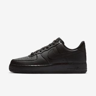 Black Air Force 1 Shoes. Nike.com