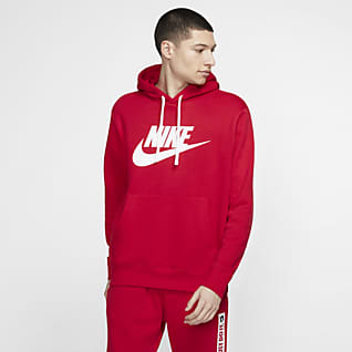 Nike Sportswear Club Fleece Sweat à capuche à motif pour Homme